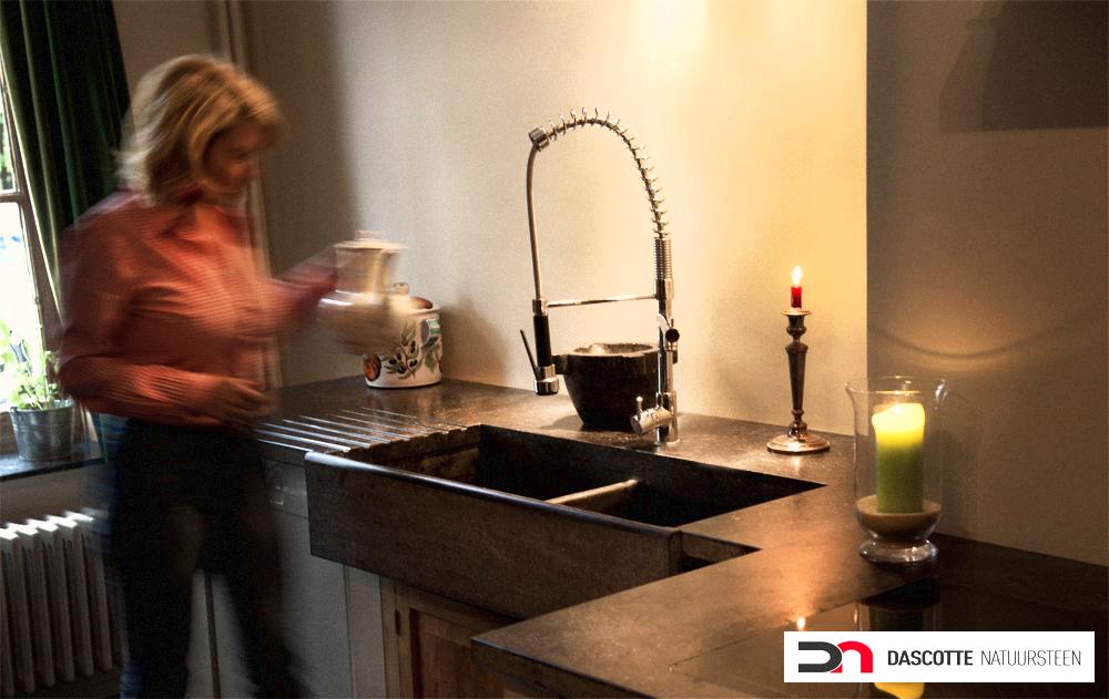 Keuken Blauwe Steen : Keuken in Blauwe Steen