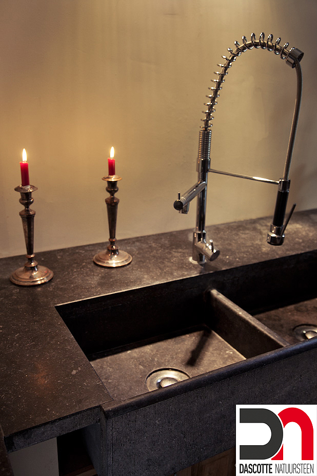 Keuken Blauwe Steen : Dascotte Natuursteen – Realisaties