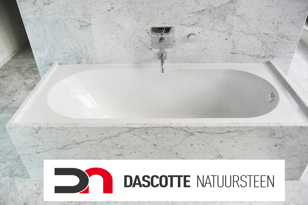Douche Schuifdeur Plieger ~ Marmer badkamer Carrara